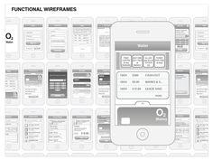 UX design for O2 nfc wallet concept