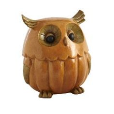 I love the new cute owls all over the place, and this one's my fave!  Pumpkin Owl!