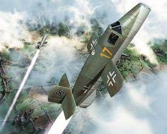 WWII Bachem Ba 349 Natter Rocket-powered Interceptor Free Aircraft Paper Model…
