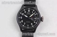 IWC Big Pilot Real PR IW502001 Real Ceramic Black Dial ZF 1:1 Best Edition