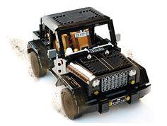 LEGO Jeep Wrangler Rubicon: A Block Made of Blocks