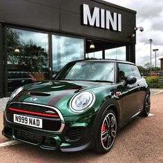 British Racing Green Mini JCW