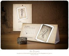 Your Gifts for the Month. Pixies, Calendar, March, Printables, Wall, Gifts, Boss, Presents, Print Templates