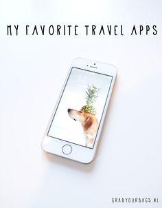 De beste travel apps voor op reis  | www.grabyourbags.nl