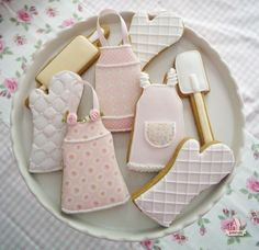 decorated baking tool cookies