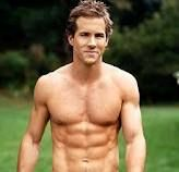 Ryan Reynolds- and no he cant wear a shirt