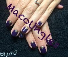 Violeta y oro