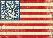 American Flag #QRCode