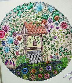 1000 Images About Well Secret Garden Poo Jardim Secreto On Pinterest