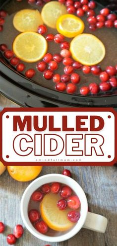 Making this Mulled Cider is so easy! Spiced with a homemade blend of cinnamon, ginger, and nutmeg, it is the perfect delicious Christmas drink for entertaining. Learn how you can prepare this holiday recipe using the slow cooker, Instant Pot, or stove-top! Save this pin! Easy Holiday Recipes, Fall Recipes, Whole Food Recipes, Christmas Recipes, Drink Recipes, Yummy Recipes, Holiday Ideas, Christmas Ideas, Yummy Drinks