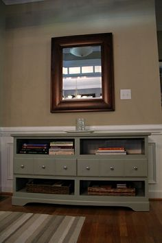 great idea for a tv console