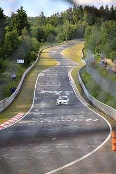 I want to drive around the Nurburgring.