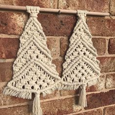 Working on an order of these gorgeous Christmas trees. There is still plenty of time to order before Christmas x _ #macramestyle #macrame #christmas #xmas #christmastree #festive #seasonsgreetings #handmade #knots #bluemountains #bluemountains