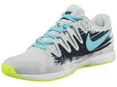 Roger's shoe of choice for the Monte Carlo Rolex Masters: Nike Zoom Vapor 9.5 Tour Clay Grey/Navy Men's Shoe