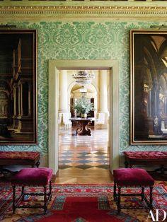 Studio Peregalli Revisits The Swiss Villa They Designed With Renzo  Mongiardino. Beautiful Interior DesignClassic ...