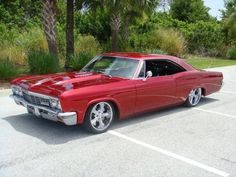 '66 Impala. We had a '66, never looked this good though