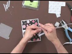 Gina K shows how to measure a card for ribbon so you don't waste it. How To Use It: Ribbon