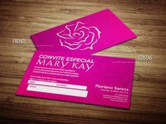 Cartões de visita - Mary Kay - Store R3