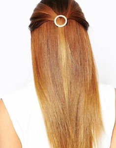 Cutest circle hair clip you can use both for everyday and going out. Find it here: http://asos.do/K9mDcB