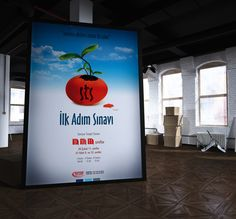 SINAV AFIS by Fatih Cetin, via Behance