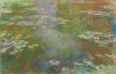 """Claude Monet (1840-1926), """"Water Lily Pond"""" - The Art Institute of Chicago ~ Chicago, Illinois, USA"""