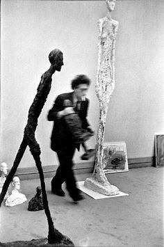 Alberto Giacometti- Swiss sculptor, painter, draughtsman, and printmaker. (October 10, 1901-January 11, 1966)