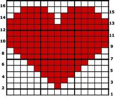 16x16 graph crochet - Google Search
