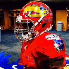 PHOTO: New Kansas Jayhawks Alternate Helmets and Jerseys Are Hideous   FatManWriting