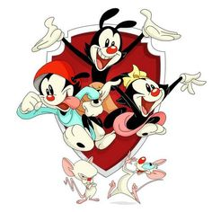 Looney Tunes Characters, Looney Tunes Cartoons, 90s Cartoons, Disney Characters, Animaniacs Characters, Cartoon Games, Cartoon Kids, Amblin Entertainment, Daffy Duck
