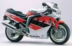 GSX-R 750, 1989