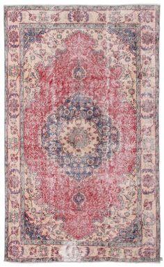 Turkish Vintage Area Rug - 161 cm x 256 cm Bedroom Carpet, Carpet Design, Home Rugs, Persian Carpet, Carpet Runner, Modern Rugs, Rug Making, Rugs In Living Room, Oriental Rug