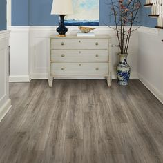 Pergo MAX Premier W X L Heathered Oak Embossed Wood Plank Laminate Flooring