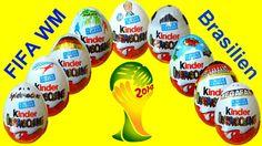 10 Киндер сюрпризы FIFA чемпионат мира по футболу 2014 Микки Маус Mickey...