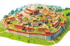 Reconstructed aerial wiev of ancient Troy - Turkey  Google Search