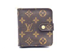 Louis Vuitton Monogram Compact Zip Wallet