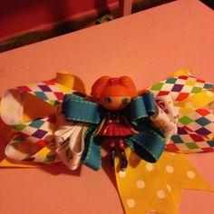 La La Loopsy hair bow