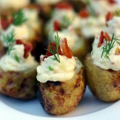 Potato Bacon  Bomb #appetizer #party #partyfood #food #yum