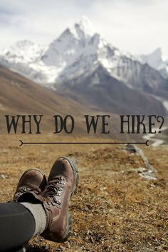 Why do people put themselves through the pain and suffering of long distance hiking and backpacking? There is a method to the madness, I promise. Hiking and backpacking have more health benefits than you think Hiking Club, Hiking Tips, Camping And Hiking, Hiking Gear, Camping Tips, Hiking Training, Kayak Camping, Winter Camping, Sports Training