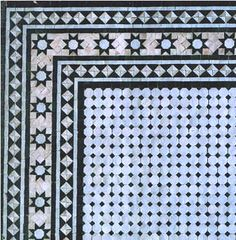 Moroccan Mosaic Tile Product Combinations / Mosaic Tile-Border Combinations for Floors & Walls / MT6
