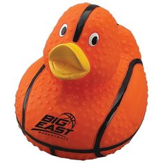 Custom Rubber Duck. RD106/JL. As low as $1.65 each. #sports #duck #basketball #marchmadness #partyfavors