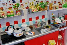 Red Re-Ment Kitchen