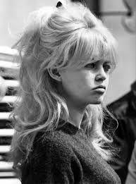 Brigitte Bardot...big hair & a pout.
