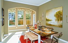 Natural light helps make this room BRIGHT, is this @lennaraustin dining space just RIGHT?