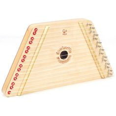 Encourage fine motor skills, logic and early music skills with our Happy Harp by Hape which is easy to play and makes beautiful music! This instrument includes a handy scale sheet that slides under th