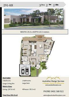 House Plans For Sale, Beach House Plans, Dream House Plans, House Floor Plans, Contemporary House Plans, Modern House Design, Artist Loft, Elevation Plan, Hollywood Homes