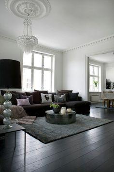Black interiors inspiration via desire to inspire