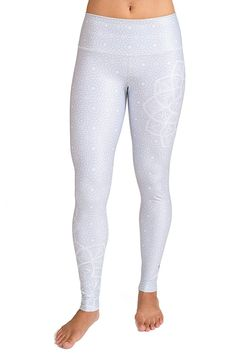 1463911cb1013 Women's Yoga Pants - Flexible - Breathable - High Waisted - Eco-Fabric  (Moroccan) - Moroccan Dream - C0127AOFFB3