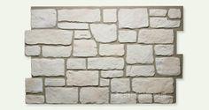 Faux Panels: Carlton Cobblestone Limestone Panel