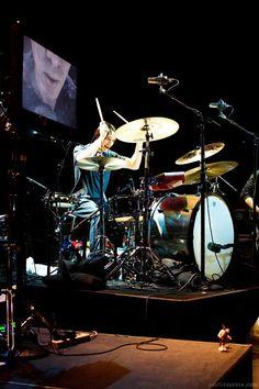 Jeff Friedl on Q Drums   #Puscifer #Qdrums #JeremyBerman #JeffFriedl