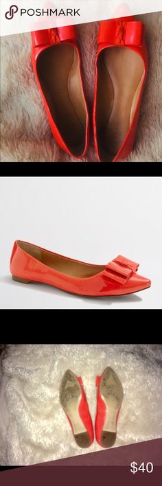 Authentic JCREW POINTY TOE  FLATS Gorgeous and comfortable flats just not my color unfortunately. JCrew Shoes Flats & Loafers